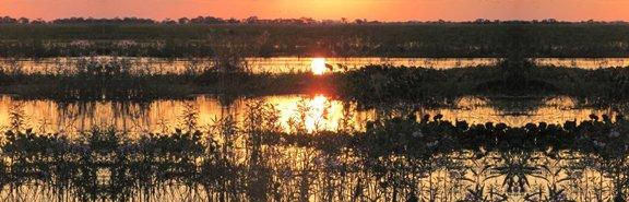 Sunset in Argentina